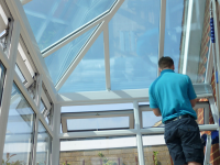 conservatory roof and sides