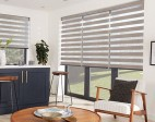 Vision blinds in kitchen