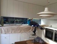 fitting venitian blinds in kitchen