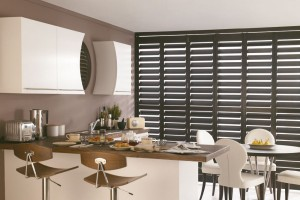 Add stylish shutters to a room